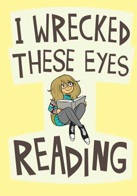 wrecked eyes