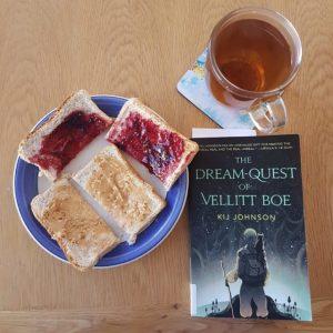 Toast and tea, The Dream-Quest of Vellitt Boe, Kij Johnson, Earl Grey Editing, novella, Tor.com